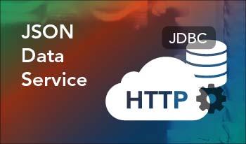 JSON data service